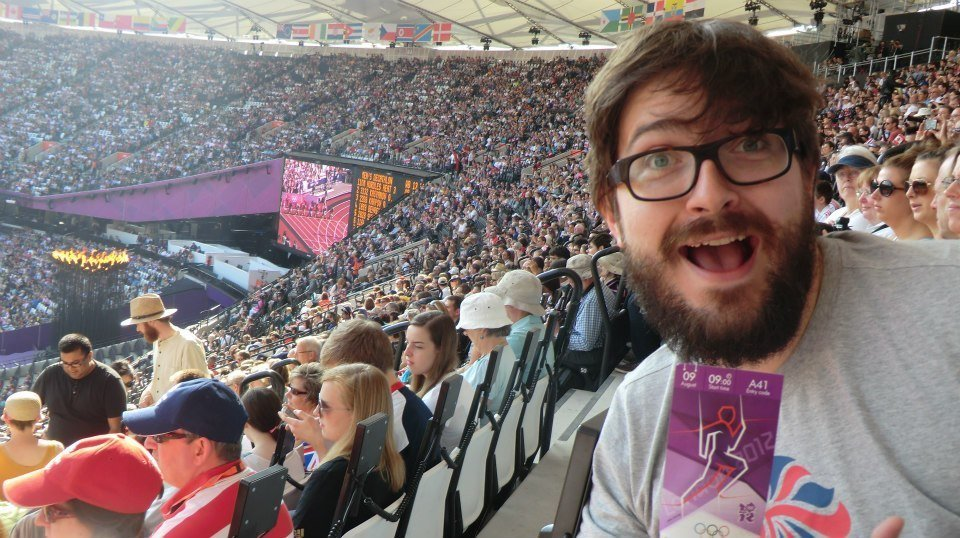 Jim T at The Olympic games