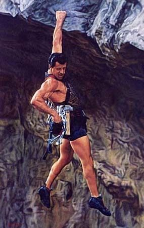 Super Fit Stallone in Cliffhanger