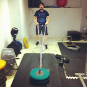 Jim T Working Out
