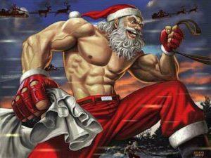 Cross Fit Santa