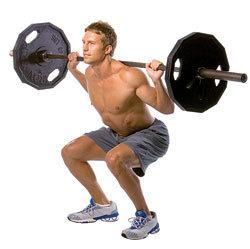 Personal trainer tip is to squat to build big legs