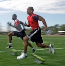 Sprinting builds muscle and drops body fat during a body transformation