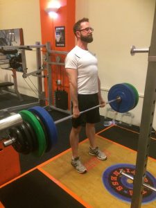 Big deadlift personal best