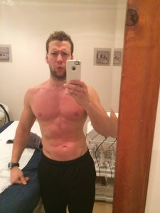 ready for the stage after 12 weeks on the warrior workout