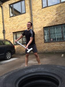 body transformation with a sledgehammer