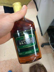Cheap Brandy...nice