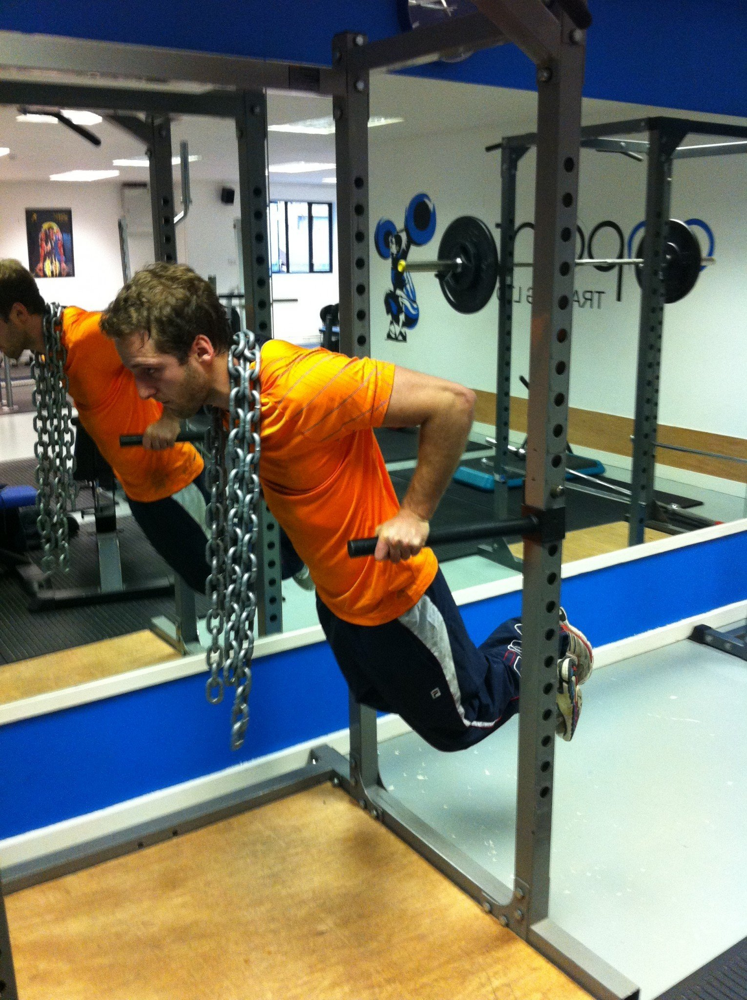 Dips with chains